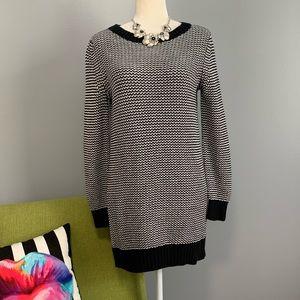 GAP Maternity Knit Chevron Sweater Dress